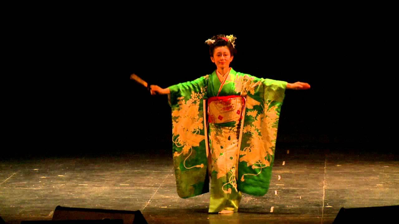 японские танцы видео смотреть