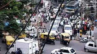 Heavy traffic Bangalore