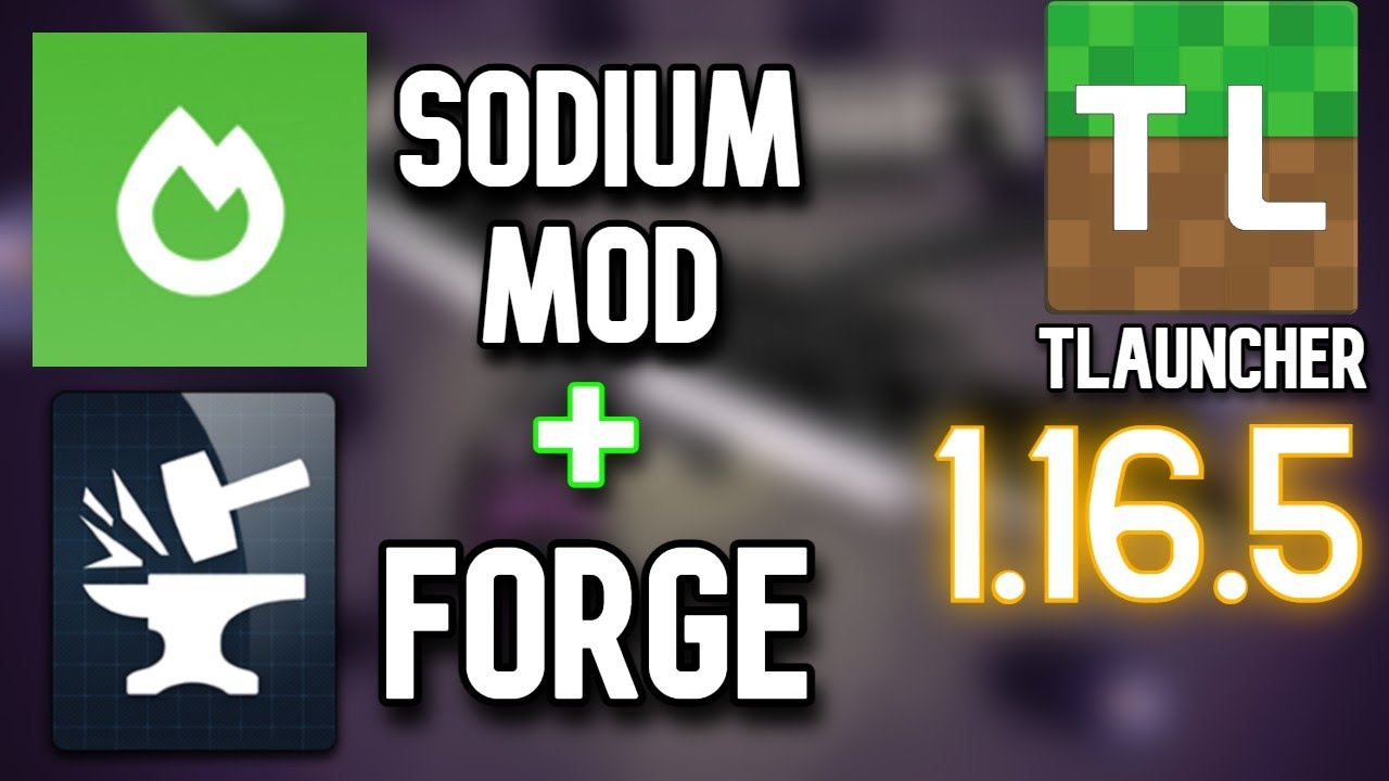 Get Sodium mod in FORGE 1.16.5 | Tlauncher | +600 FPS BOOST | Sodium Reforged