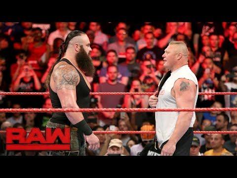 Braun Strowman attacks Universal Champion Brock Lesnar: Raw, Aug. 21, 2017