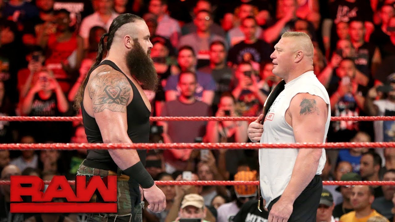 Braun Strowman Attacks Universal Champion Brock Lesnar