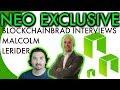 NEO EXCLUSIVE INTERVIEW | BlockchainBrad |  NEO NEWS | $NEO UPDATE | Malcolm Lerider