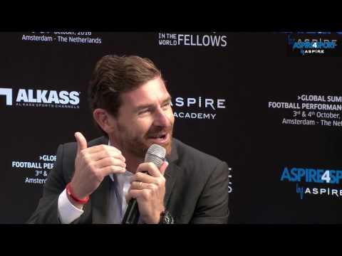 Stars Chat: Andre Villas Boas - Aspire4sport/Global Summit, Amsterdam 2016