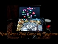 Versace On The Floor (Real Drum App Cover by Raymund)