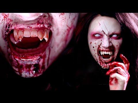 VAMPIRE Halloween Makeup Tutorial