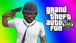 GTA 5 Online Funny Moments - Bullet...