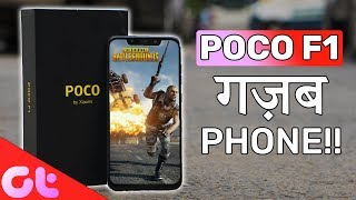 Xiaomi POCO F1 Unboxing, Gaming, Camera Samples | Ghazab Ka Phone??