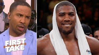 Anthony Joshua is too worried about 'looking like a model on Instagram' – Andre Ward | First Take
