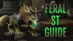 Feral Druid Single Target Rotation & Talent Guide | Patch 8.1.5 | WoW BFA