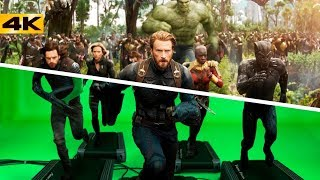 Как снимали Войну Бесконечности. Процесс съемки фильма Marvel от и ДО.