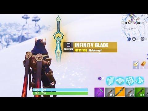 Infinity Blade Gameplay ⚔️ So STARK Ist Das Neue SCHWERT | Fortnite Season 7 Deutsch German