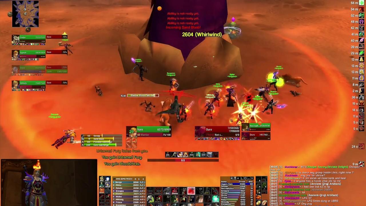 Ouro - 2h Slam Fury DPS - Kronos Vanilla WoW