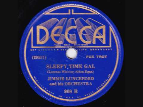 Jimmie Lunceford & His Orchestra - Sleepy Time Gal - 1935