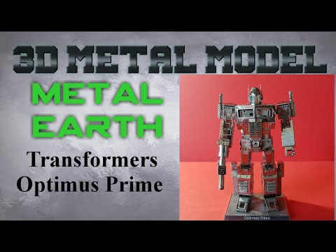 Metal Earth Build - Transformers Optimus Prime