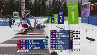 Biathlon Men 12,5Km Pursuit Complete Event | Vancouver 2010