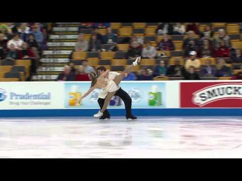 Rachel Brozina & Nicholas Taylor 2014 Prudential U.S figure skating championships