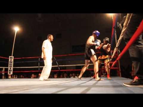 Sentwali Woolridge Marc Hare Fight Night XIV Bermuda March 10 2012