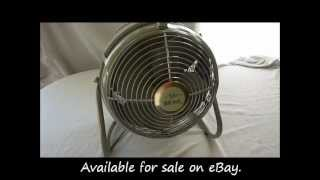 Knapp Monarch Duo Aire Electric Fan (circa 1950's)