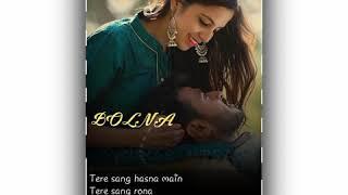 Bolna mahi bolna whatsapp status   Female version    Love song  