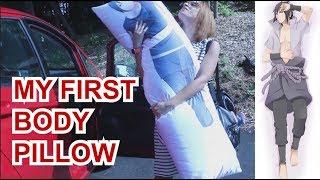My FIRST Body Pillow! (Sasuke & Itachi for KHalfkey)
