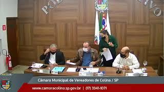 Câmara Municipal de Colina - 13ª Sessão Extraordinária 04/08/2021