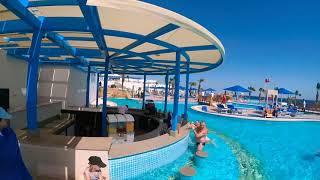 Путешествие с МАКСОМ по бассейнам ALBATROS PALACE RESORT в Шарм эль Шейхе Sharm el Sheikh Xiaomi Yi