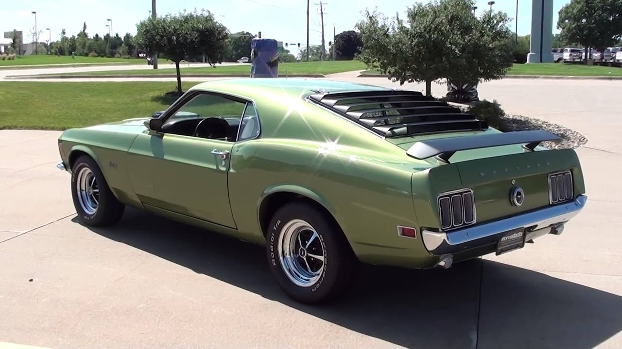 1970 Ford Mustang 428 Super Cobra Jet  Rons Toy Box Bettendorf