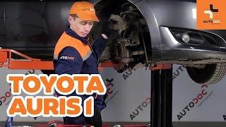 TOYOTA AURIS-videoveiledninger og reparasjonshåndbøker – hold bilen din i toppform