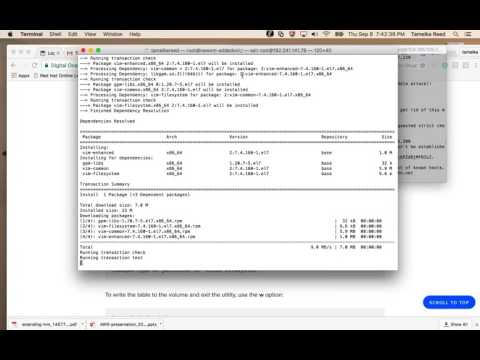 RHCSA-partitions,lvm, linux academy - YouTube