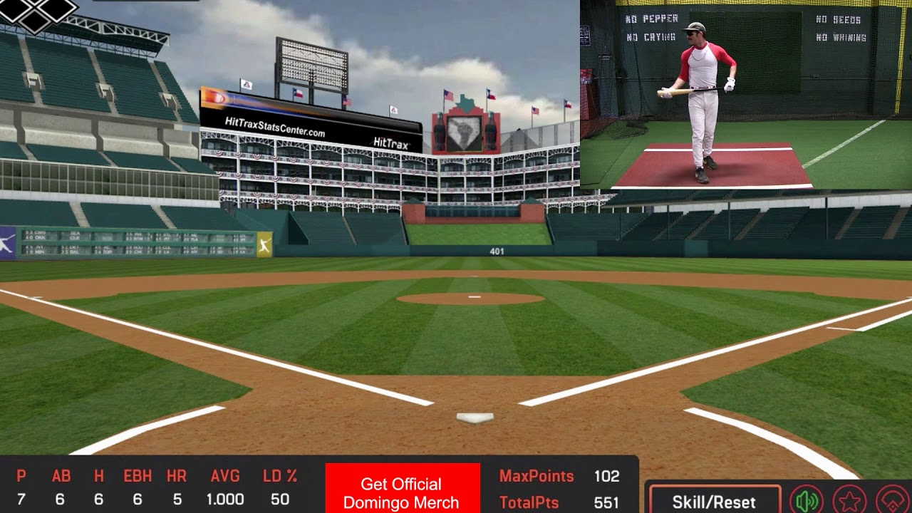 Domingo Ayala Takes Batting Practice In Texas