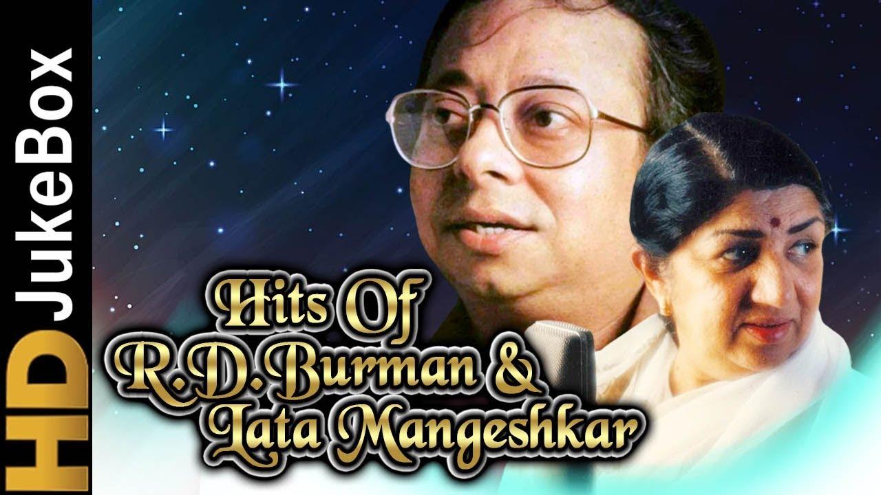 Download Hits Of R. D. Burman & Lata Mangeshkar | Evergreen Melodious Romantic Songs | Classic Hindi Songs