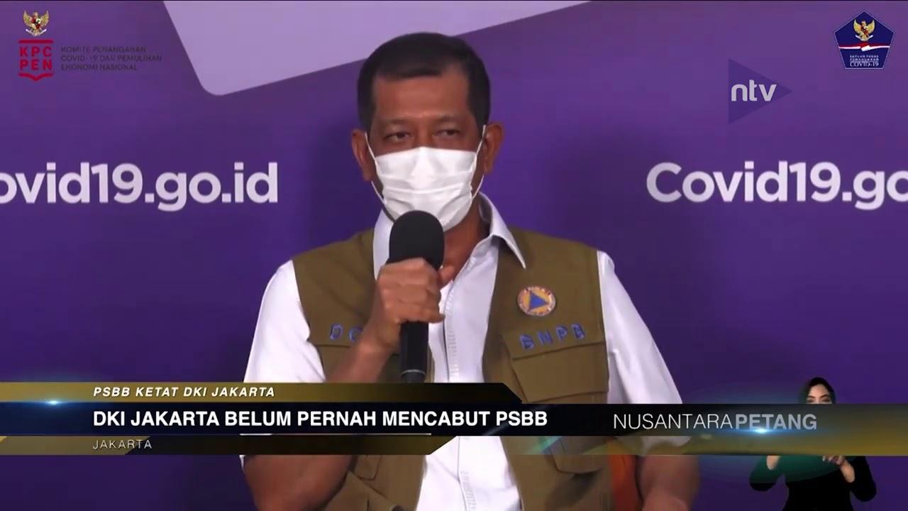 DKI Jakarta Belum Pernah Mencabut PSBB