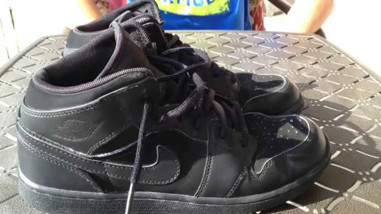 f37ee04baa0 Nike Air Jordan 1 Mid Review and On Foot - YouTube