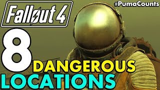 Top 8 Most Dangerous and Interesting Places and Locations to Visit in Fallout 4 #PumaCounts