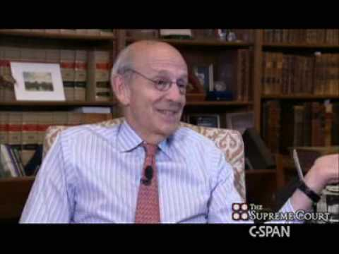 Justice Breyer in his Chambers