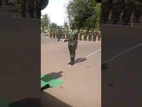 Mawuli Army Cadet 2016-2017 5th change in command parade