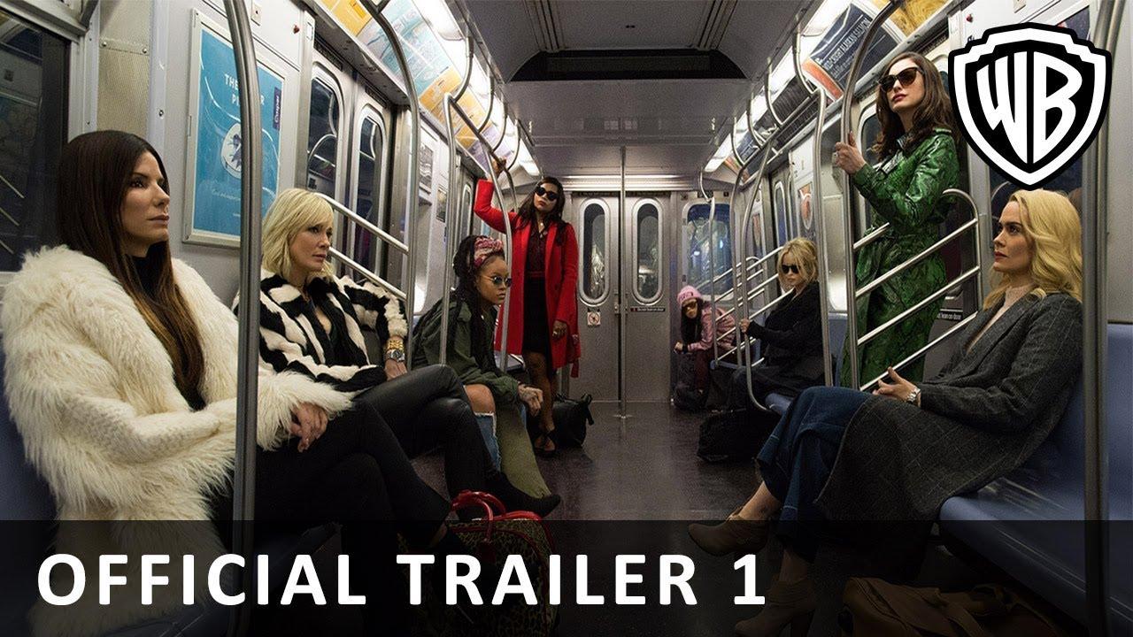 Oceans 8 - Official Main Trailer (DK)