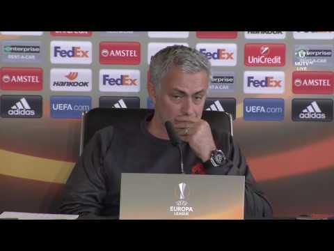 Jose Mourinho & Sergio Romero's Pre Match Press Conference   Manchester United vs Anderlecht
