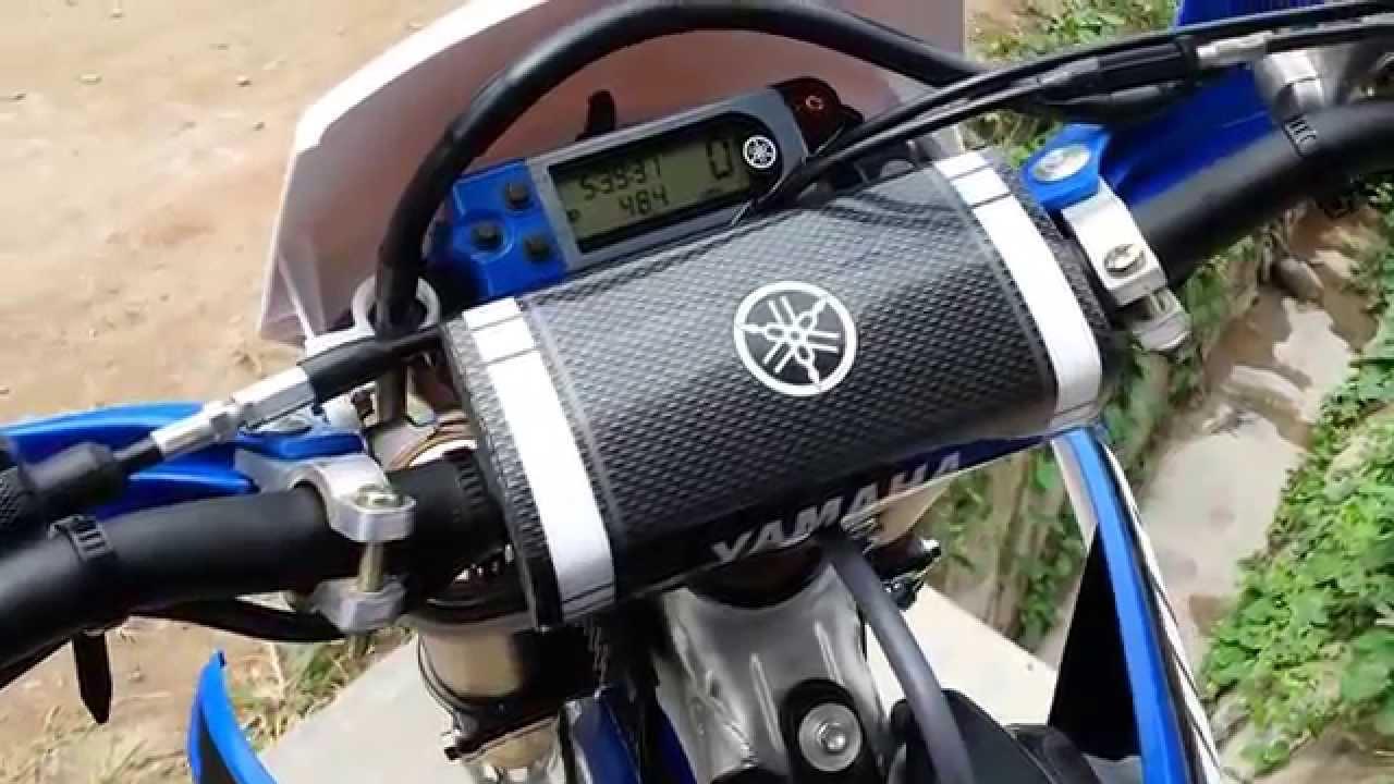 Yamaha WR450F (2014 mod 2015) Jaén - YouTube