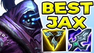 THE MOST DANGEROUS TOPLANER.. UNSTOṖPABLE JAX TOP! (STRONG) - League of Legends   Jax Gameplay Guide