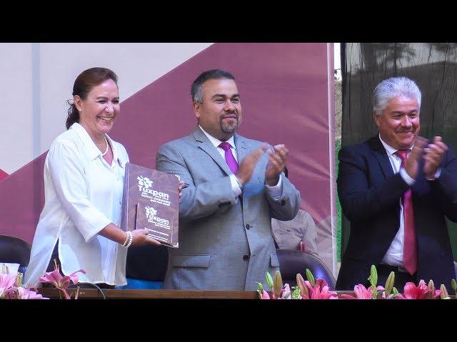 Jesús Antonio Mora rindió su 2do Informe de gobierno en #Tuxpan