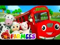 Wheels On The Bus Go Round And Round | 3d Nursery Rhyme Songs | Videos For Children video