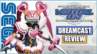 Cyber Troopers Virtual-On Oratorio Tangram Dreamcast Review