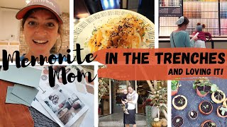 GETTING IT ALL DONE: Cooking, Chores, Home Renovations | DITL of a Mennonite Mom Vlog