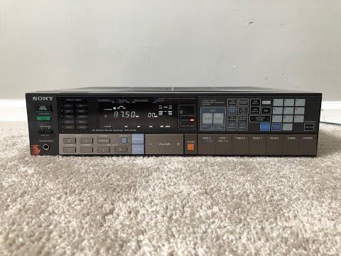 Sony STR-AV760 Home Stereo Audio AM FM Receiver