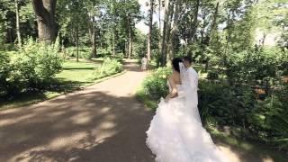 Свадьба Полины и Михаила. Макияж и прическа невесты: Ульяна Старобинская (17.07.13) - видеоклип