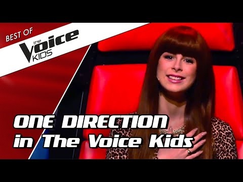 TOP 10   ICONIC ONE DIRECTION Songs In The Voice Kids