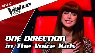 TOP 10 | ICONIC ONE DIRECTION songs in The Voice Kids