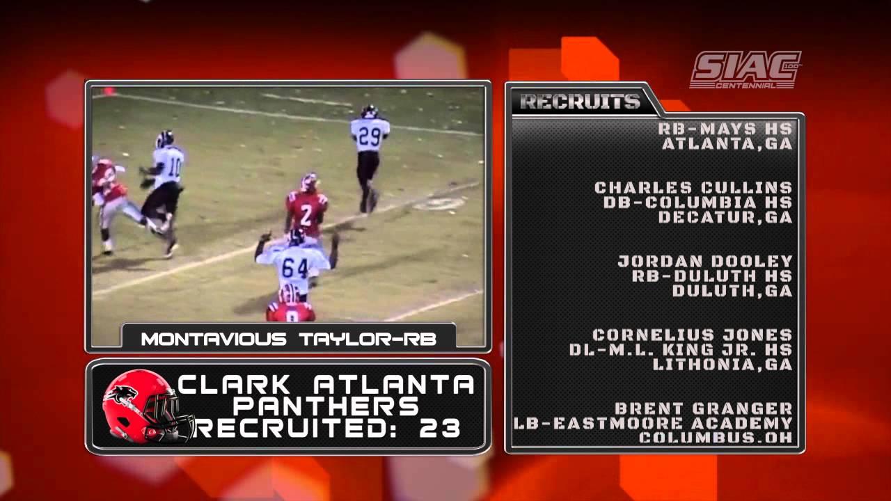 2013 National Football Signing Day: Clark Atlanta Panthers ...