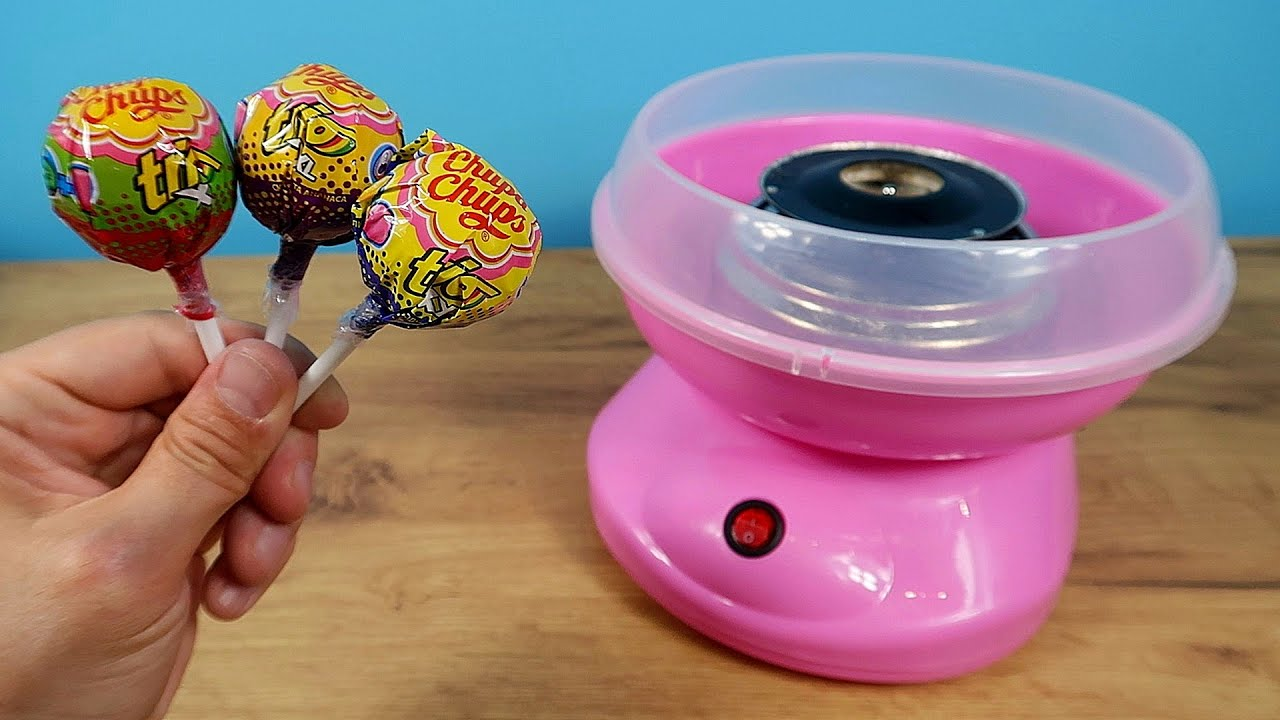 Получится ли Сладкая вата из конфеты Чупа-Чупс? Эксперимент! alex boyko